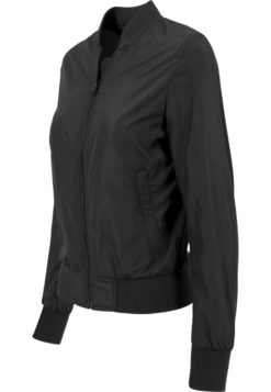 Frauen Nylon Bomber Jacket